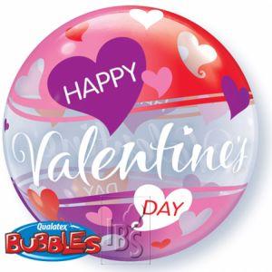 Happy Valentijn bubble 56 cm