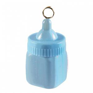 Ballon gewichtje babyflesje blauw