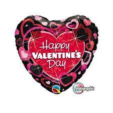 Valentijn folieballon 45 cm