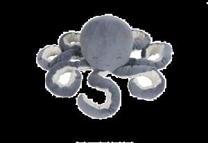 Knuffel Octopus blauw Little Duch
