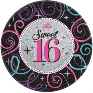 Sweet 16 folie 45 cm