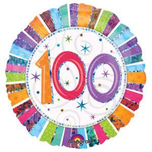 Folieballon 100 jaar (45 cm)