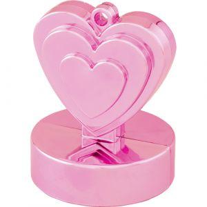 Ballon gewichtje roze hart